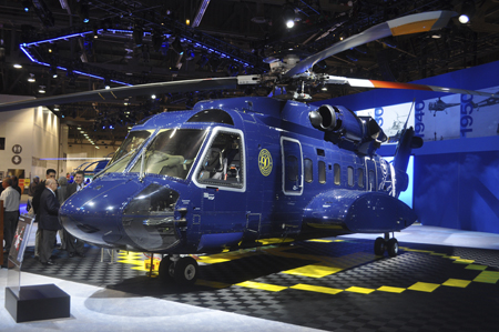 Sikorsky S-92 at Heli-Expo 2013.