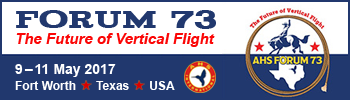 Forum 73, The Future of Vertical Flight, May 9-11, 2017, Fort Worth, Texas, USA.