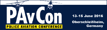 PAvCon - Police Aviation Conference 2016, 13–15 May 2016, Oberschleißheim, Germany